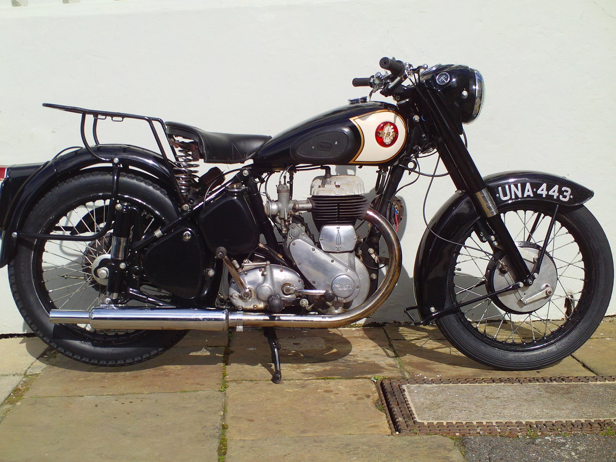 1955 BSA M21  SOLD (picture 1 of 6)