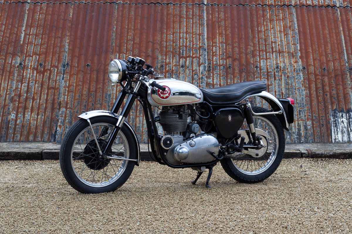 1956 BSA Gold Star - Electric Start For Sale (picture 1 of 6)