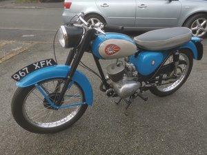 1964 BSA bantam 175