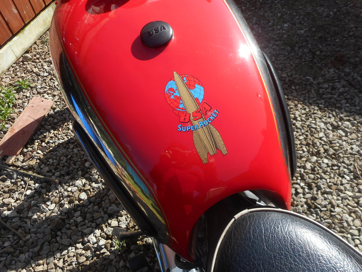 1959 BSA  A10 Super Rocket For Sale (picture 5 of 6)