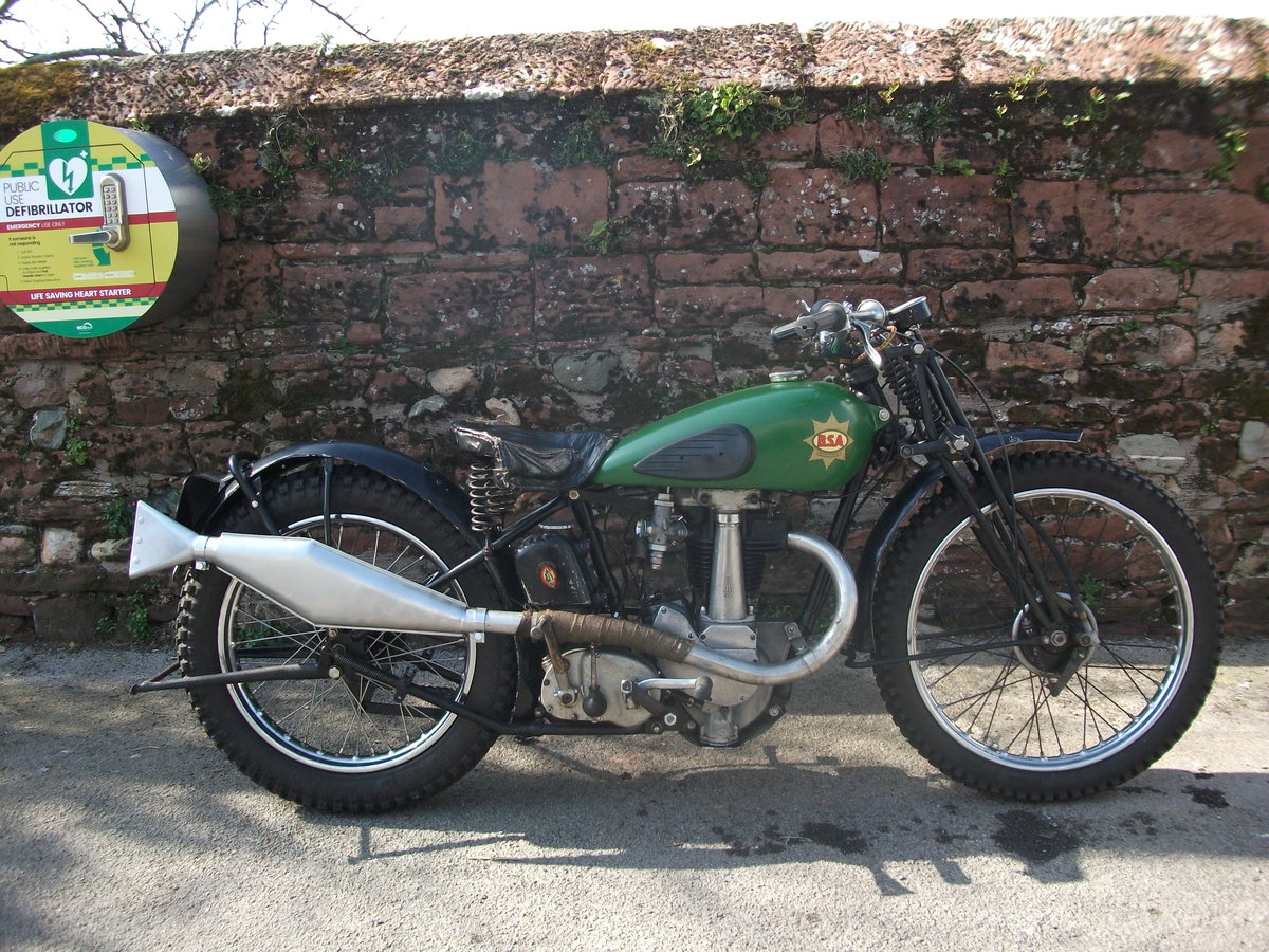 1938 BSA Empire Star SOLD (picture 1 of 6)