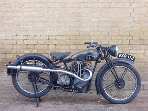 1933 BSA B33-3 Blue Star Junior 250cc