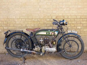 1925 BSA S25 500cc For Sale