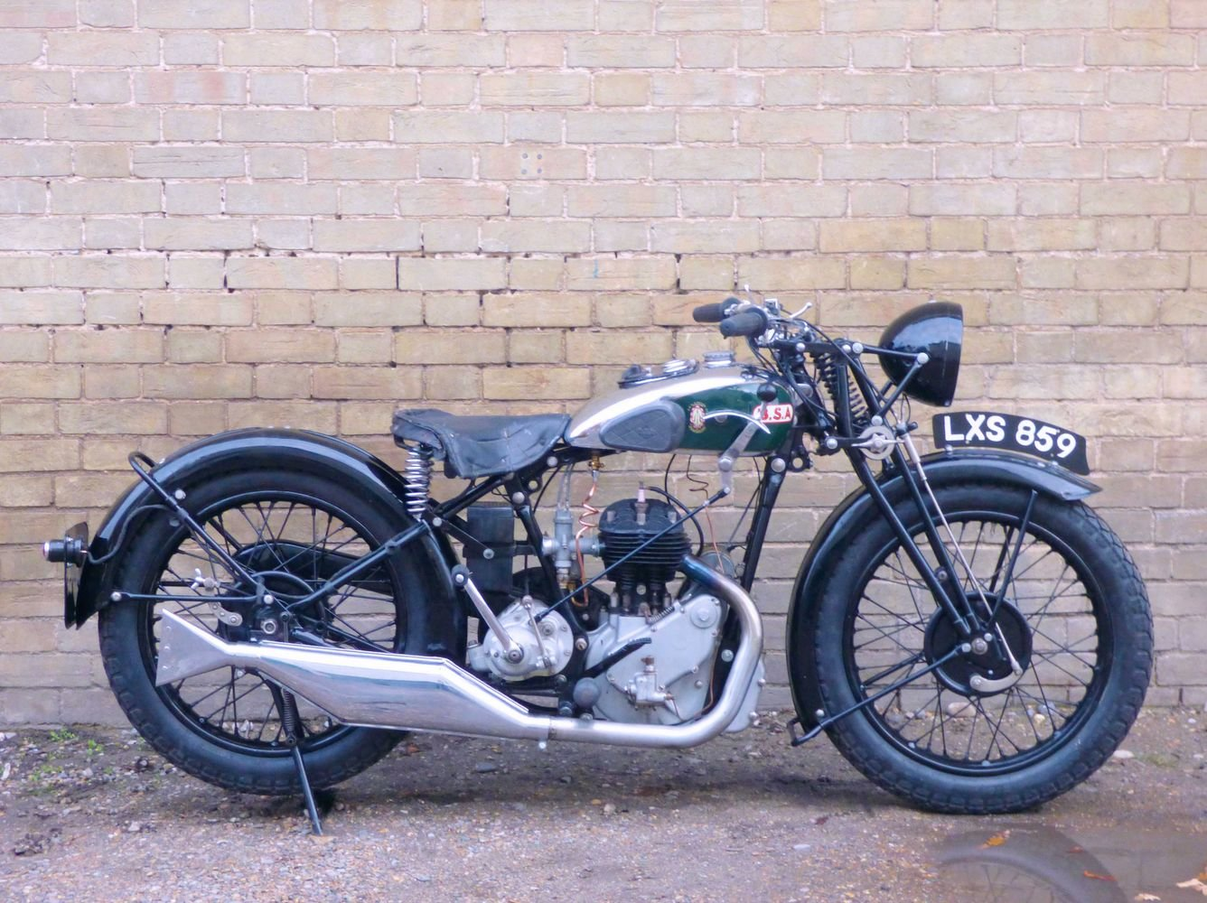 1932 BSA Model W6 500cc SOLD (picture 1 of 6)