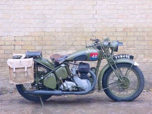 1944 BSA WM20 500cc
