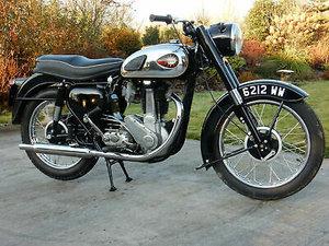 BSA B33 First Registered 24th June 1960 - Original Registrat