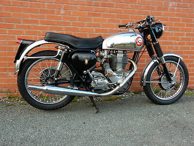 BSA Gold Star DB32 1957 350cc in Touring Trim For Sale (picture 1 of 1)
