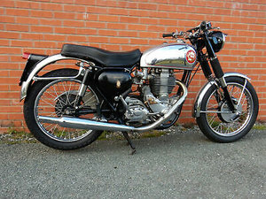 BSA Gold Star DB32 1957 350cc in Touring Trim
