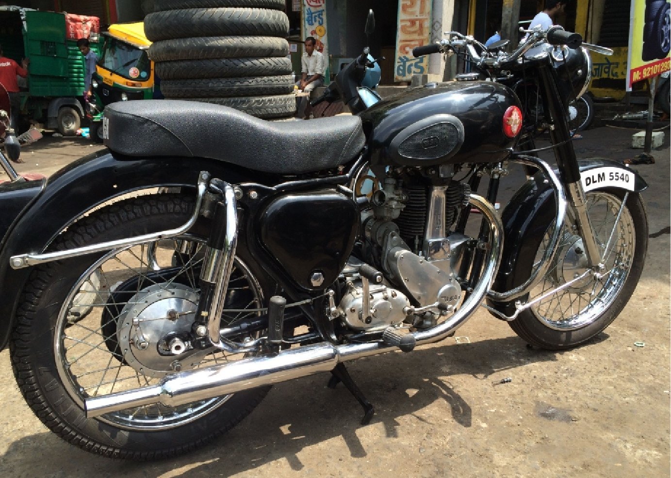 1956 BSA 350 Deluxe Authentic For Sale (picture 1 of 6)