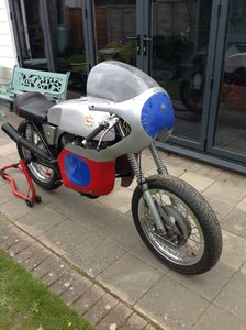 Picture of 1967 BSA B40 junior to replica