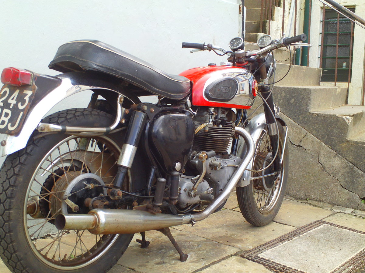 1959 BSA A10 SUPER ROCKET SOLD (picture 2 of 6)