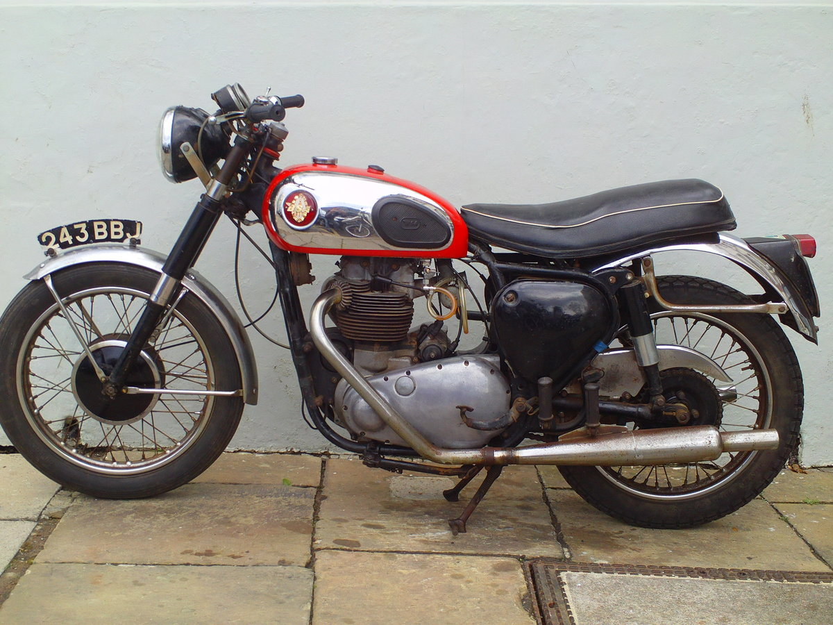1959 BSA A10 SUPER ROCKET SOLD (picture 3 of 6)
