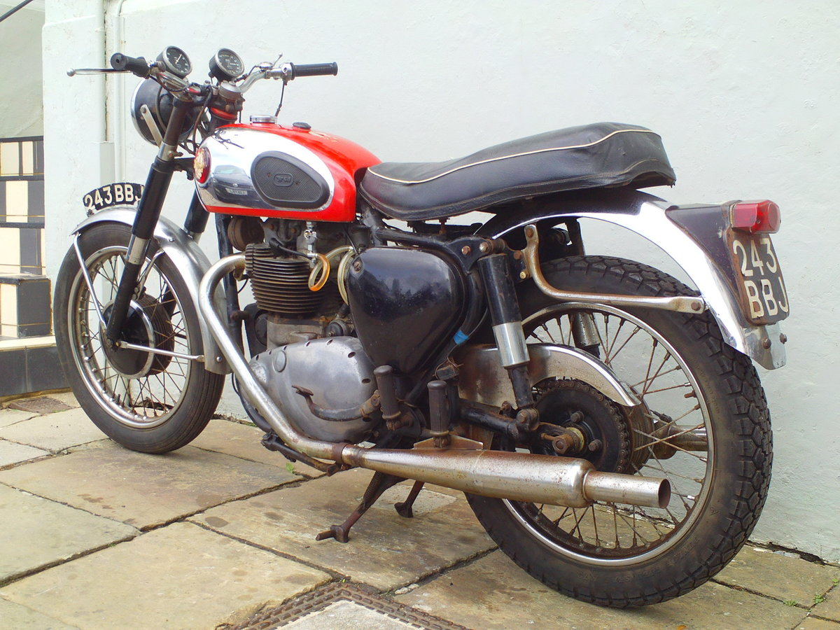 1959 BSA A10 SUPER ROCKET SOLD (picture 4 of 6)