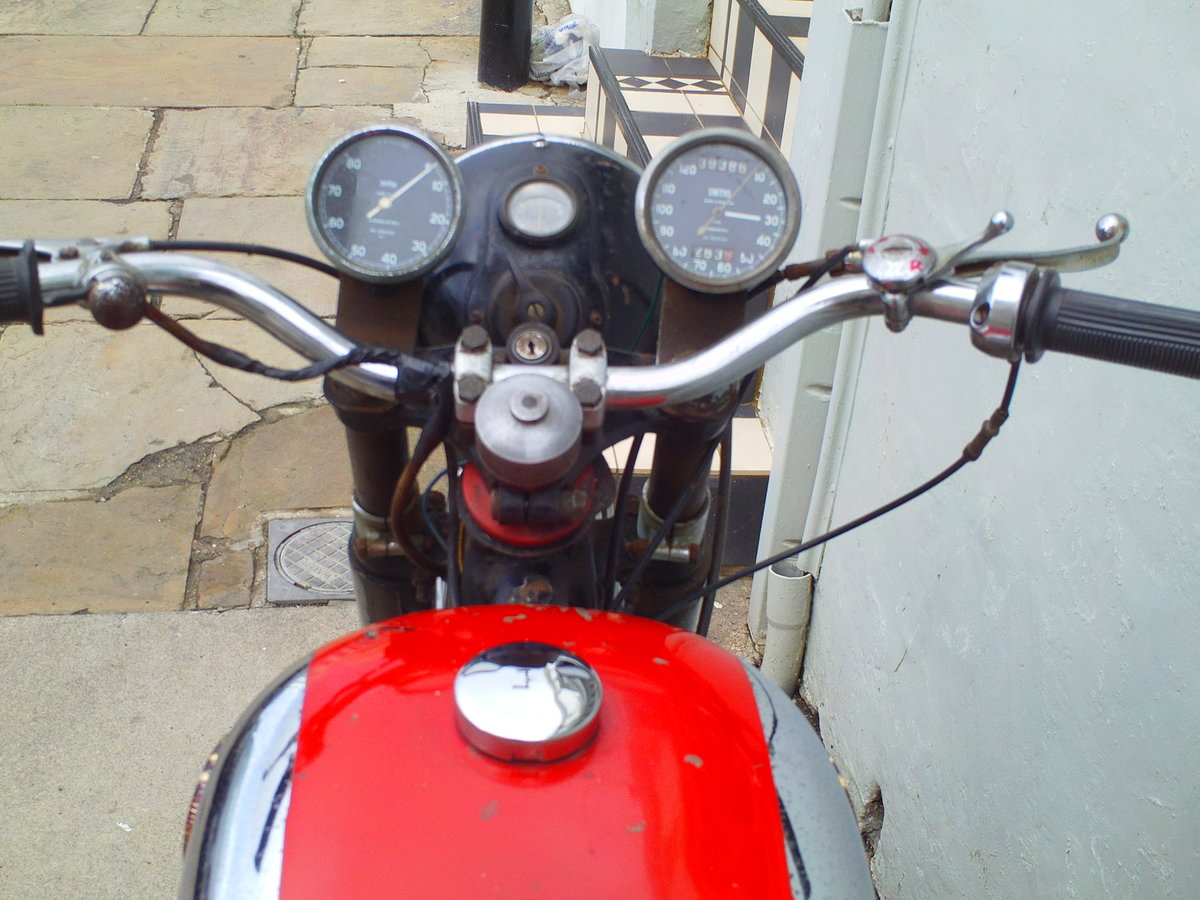 1959 BSA A10 SUPER ROCKET SOLD (picture 5 of 6)