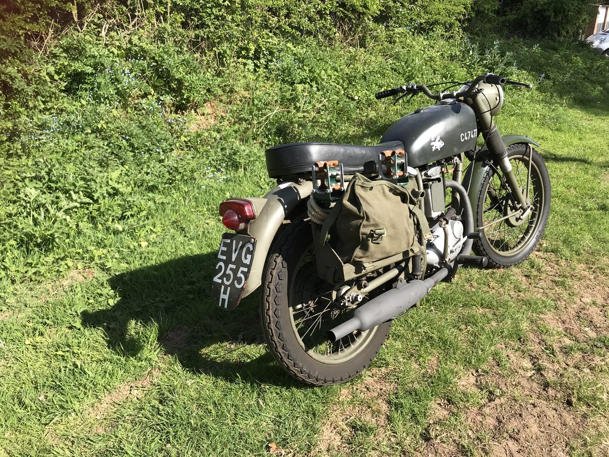 1970 BSA B40WD. For Sale (picture 6 of 6)