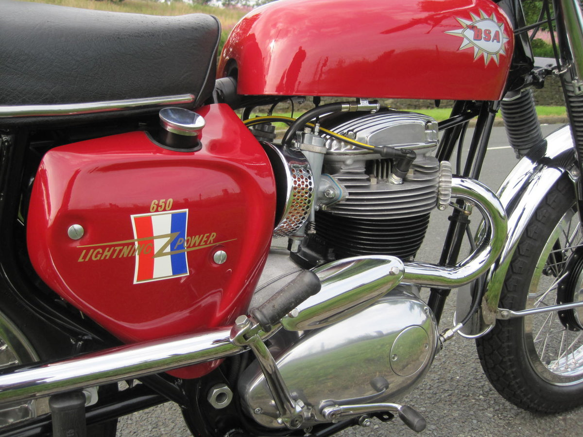 1967 BSA Hornet 650, Show Winning Bike-Outstanding For Sale (picture 3 of 6)