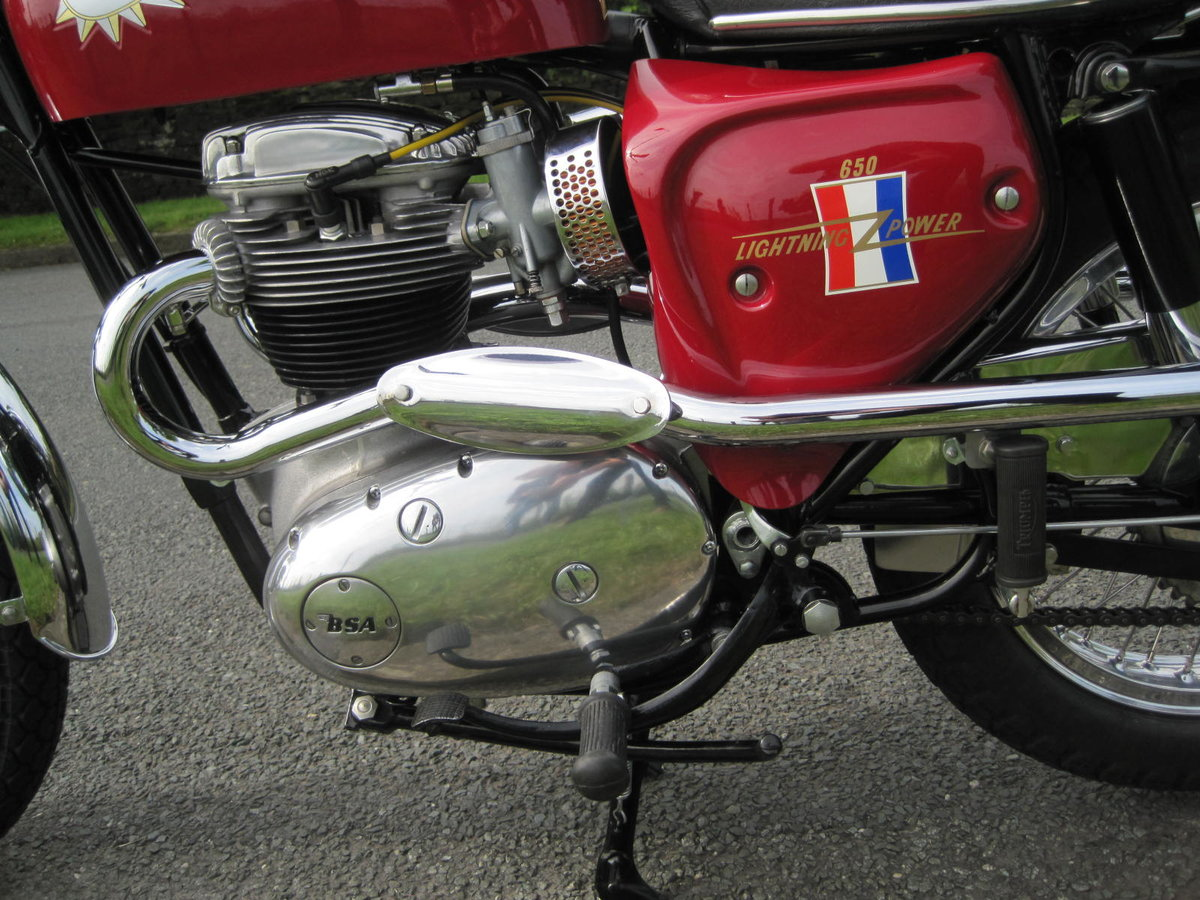 1967 BSA Hornet 650, Show Winning Bike-Outstanding For Sale (picture 4 of 6)