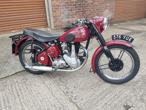 1953 BSA B31 350cc single