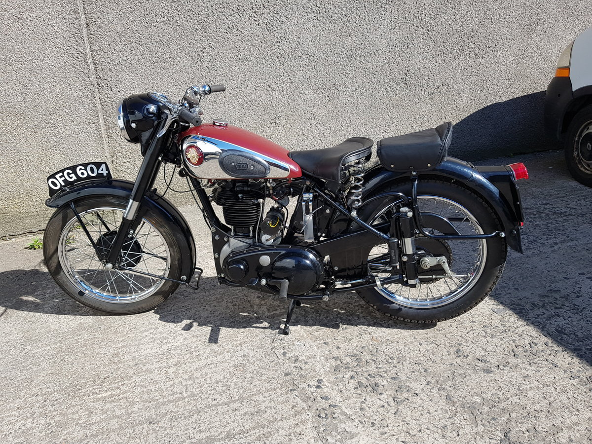 1955 BSA M33 500cc single  SOLD (picture 2 of 6)