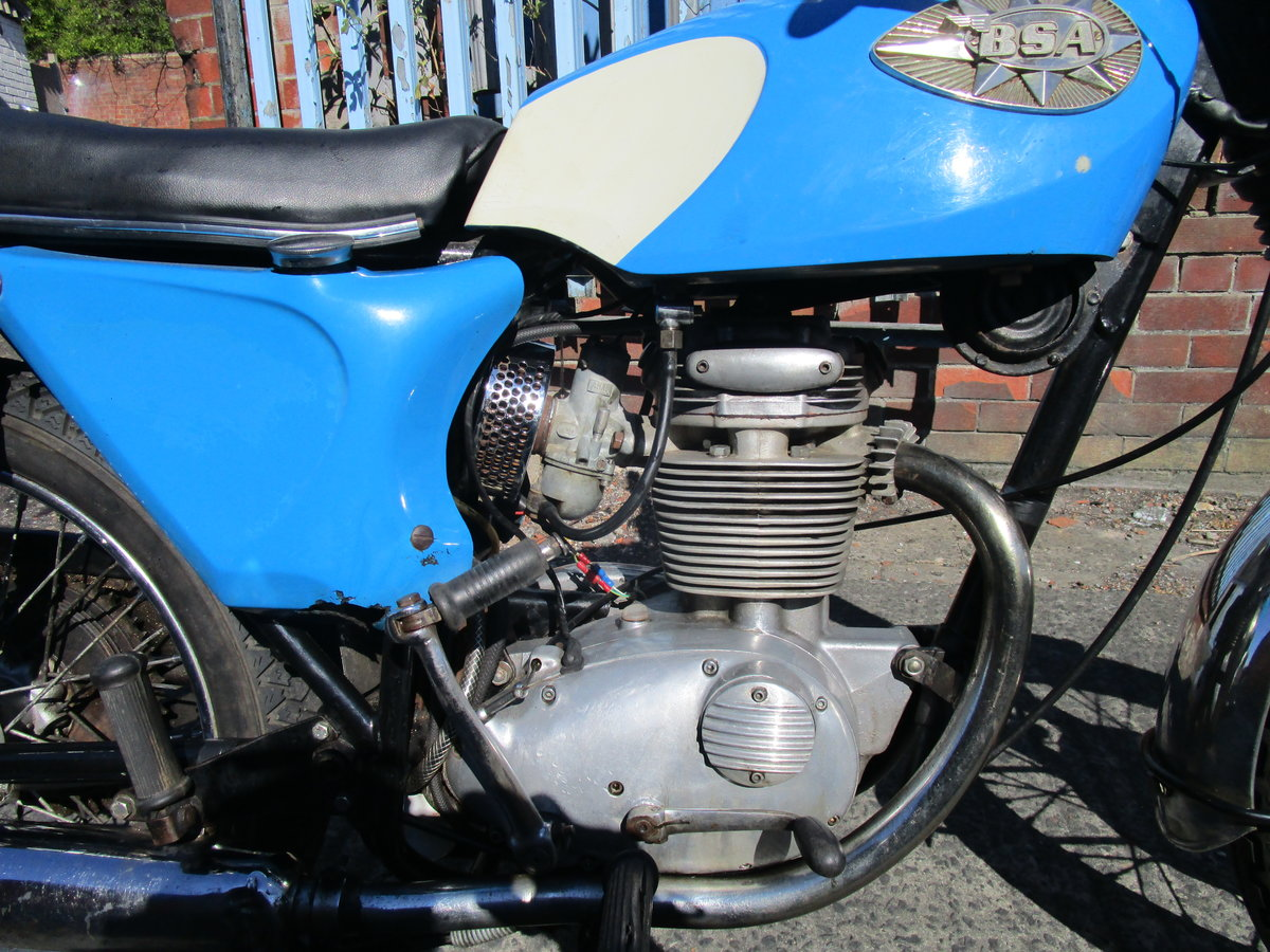 1968 BSA B25 Barracuda 250 V5C  ride away Starfire  For Sale (picture 3 of 6)