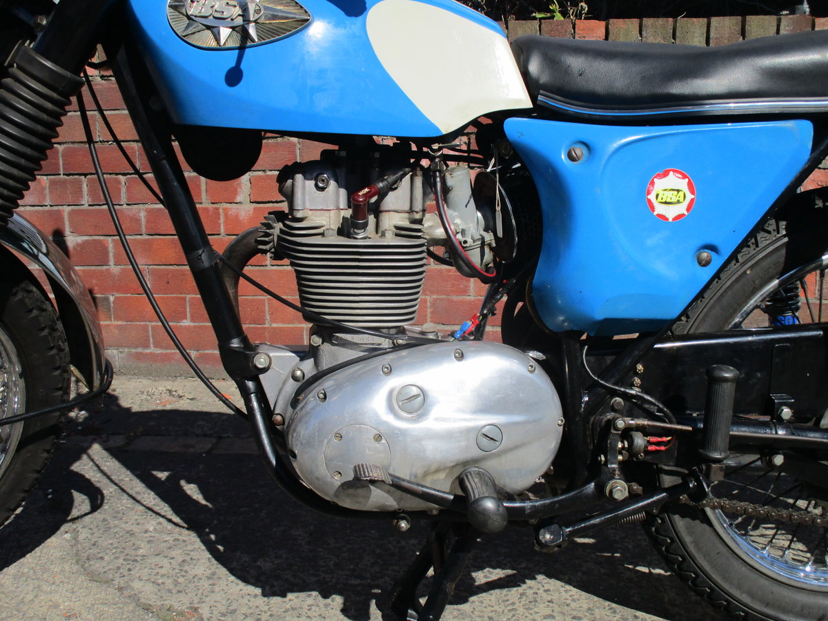 1968 BSA B25 Barracuda 250 V5C  ride away Starfire  For Sale (picture 4 of 6)