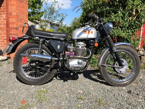 1969 BSA B44 Victor Special