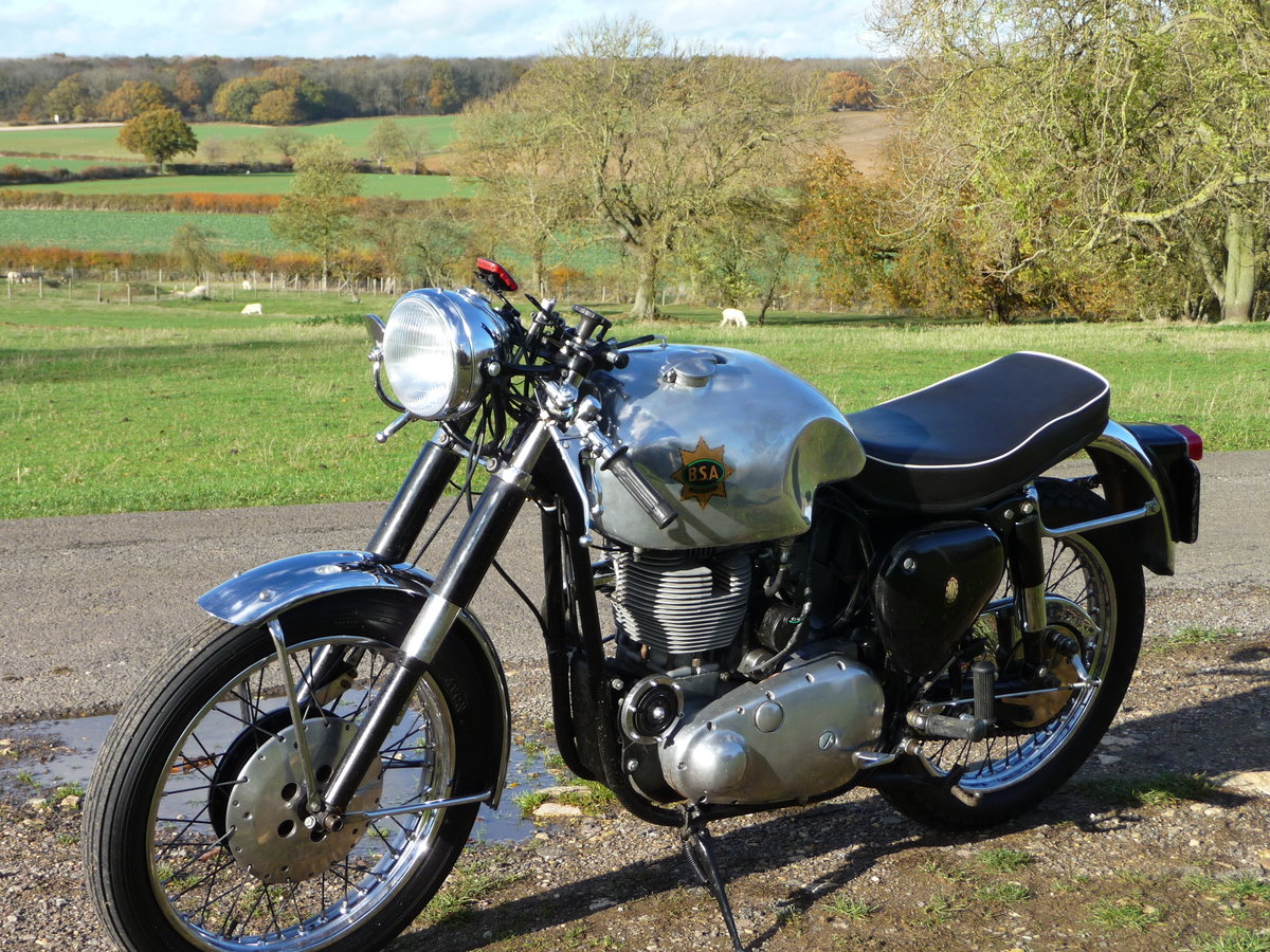 1964 BSA Goldstar 350cc For Sale (picture 4 of 5)