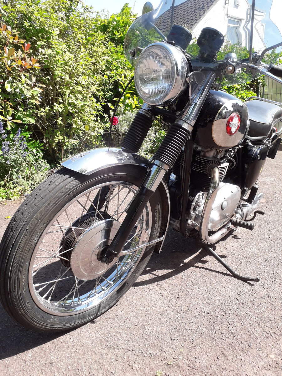 1959 BSA Super Rocket, RGS For Sale (picture 2 of 5)