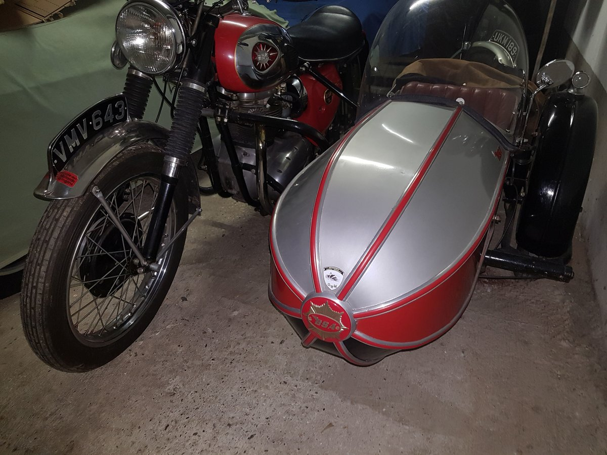 1964 BSA sport  sidecar outfit For Sale (picture 3 of 6)