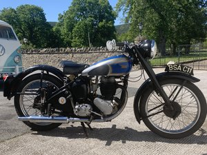 BSA C11 Classic Motorcycle