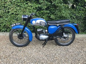 1968 BSA BANTAM D14/4 4 Speed Valuable Reg No V5c