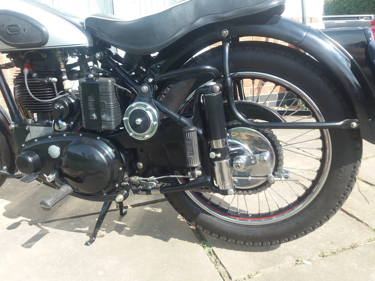 1949 BSA B31 Plunger For Sale (picture 4 of 6)