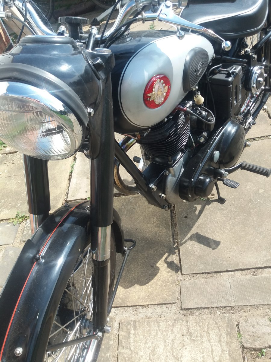 1949 BSA B31 Plunger For Sale (picture 6 of 6)