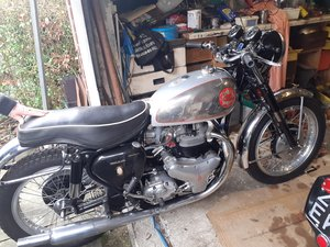 1959 BSA Rocket Goldstar Replica