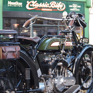 BSA Model A 770cc V Twin, Owned By Ex BSA Expert.