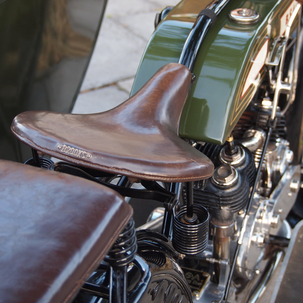 1921 BSA Model A 770cc V Twin, Owned By Ex BSA Expert. For Sale (picture 5 of 6)