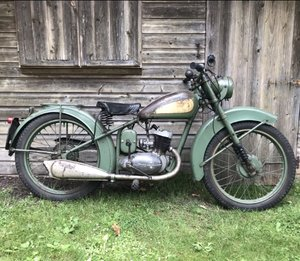 1952 D1 BSA Bantam Rigid