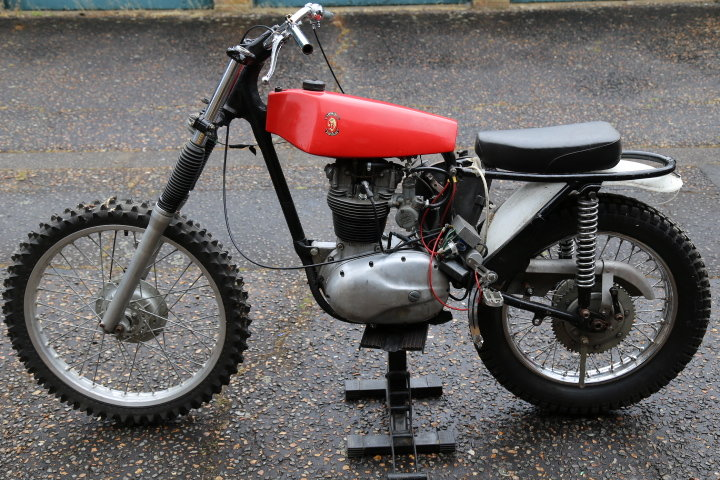 1960 BSA C15 Trials Pre 65 Twinshock SS80 engine For Sale (picture 2 of 6)