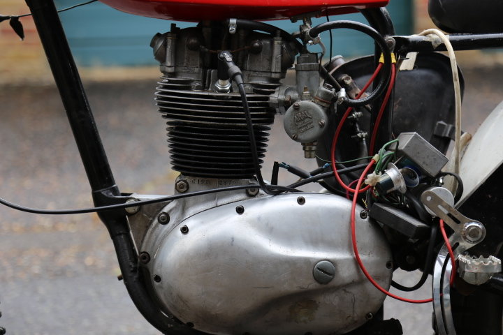 1960 BSA C15 Trials Pre 65 Twinshock SS80 engine For Sale (picture 3 of 6)