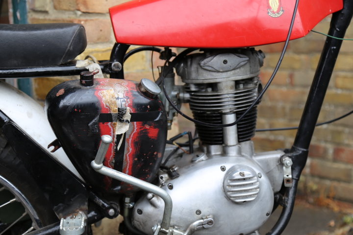 1960 BSA C15 Trials Pre 65 Twinshock SS80 engine For Sale (picture 4 of 6)