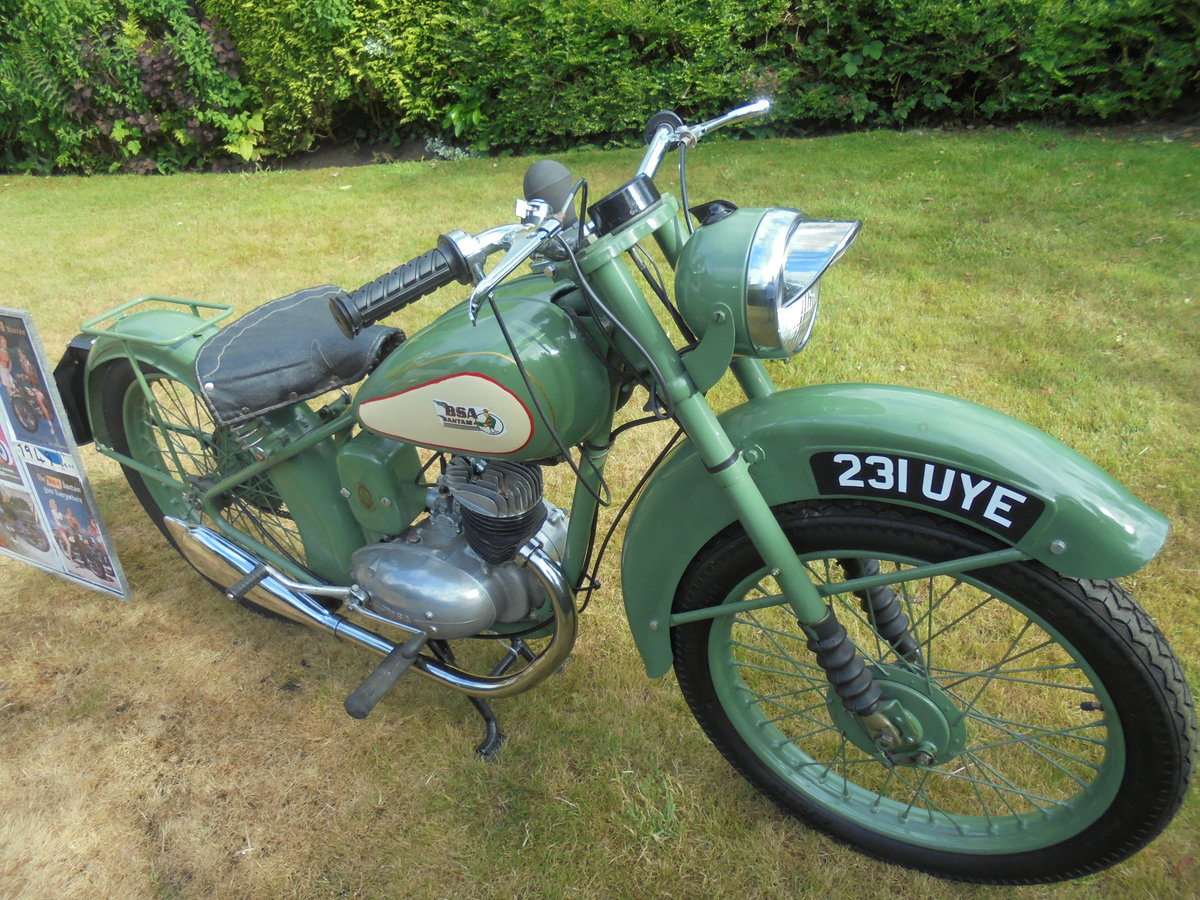 1949 BSA bantam d1 125cc rigid For Sale (picture 5 of 6)