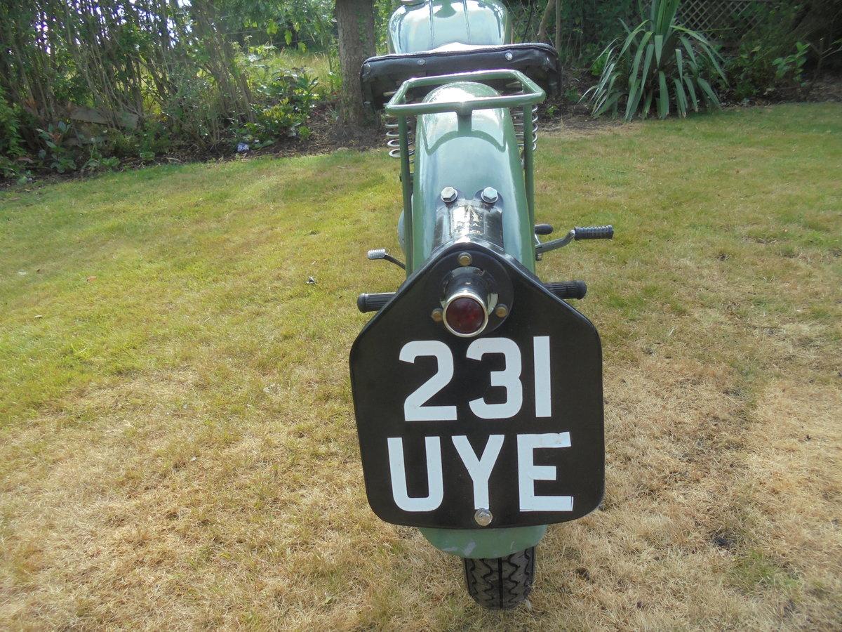 1949 BSA bantam d1 125cc rigid For Sale (picture 6 of 6)