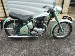 1953 BSA A7 Star Twin