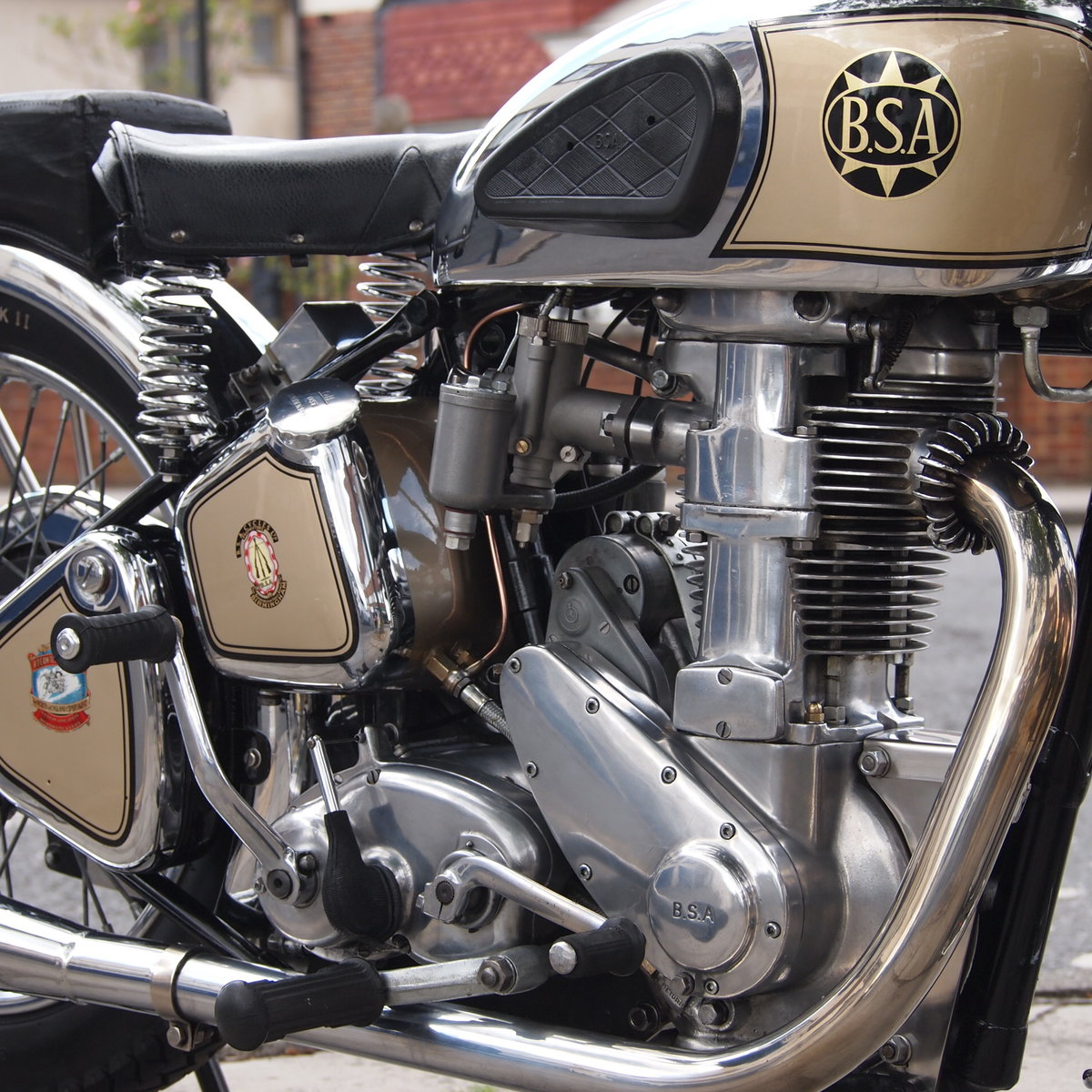 1939 BSA M24 500 Gold Star, Simply Stunning, You Must See. For Sale (picture 2 of 6)