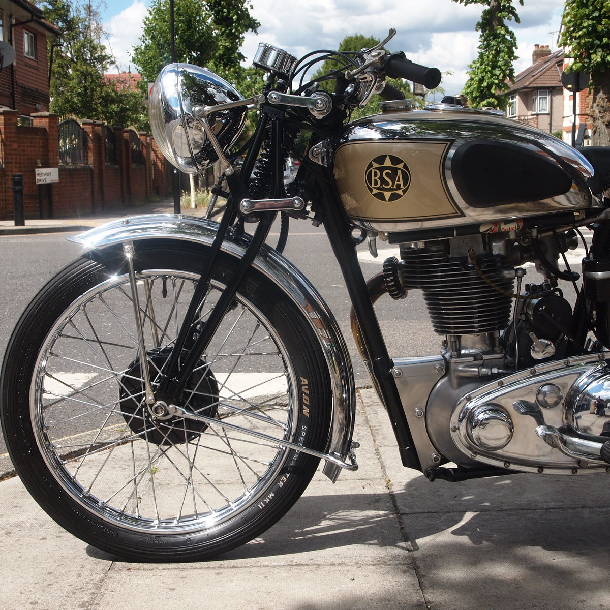 1939 BSA M24 500 Gold Star, Simply Stunning, You Must See. For Sale (picture 3 of 6)