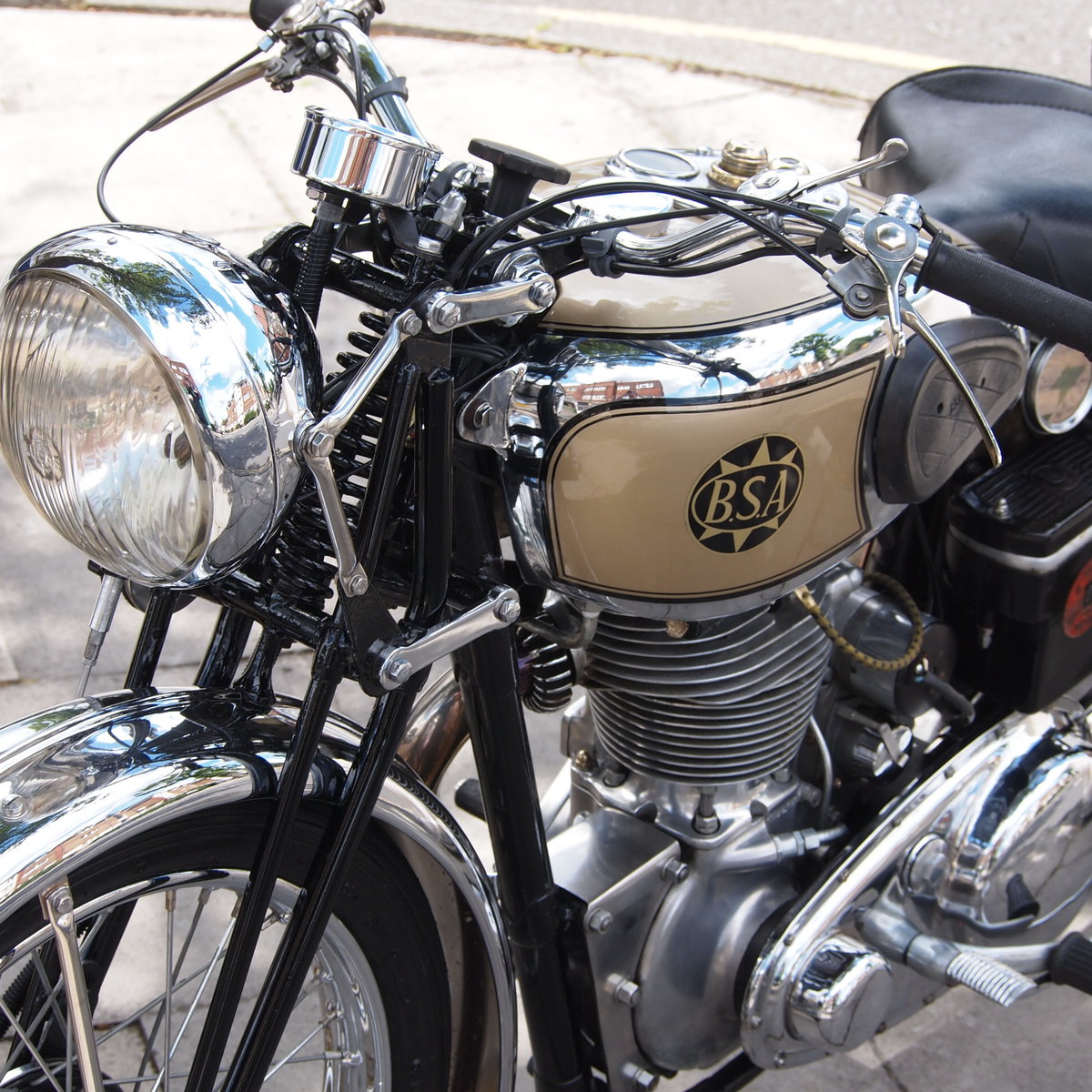 1939 BSA M24 500 Gold Star, Simply Stunning, You Must See. For Sale (picture 5 of 6)