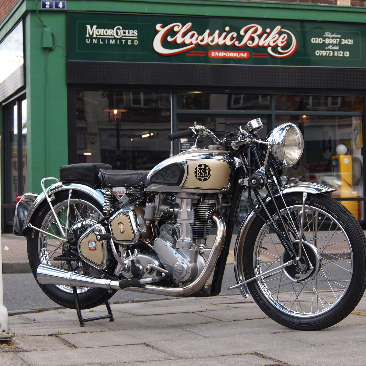 1939 BSA M24 500 Gold Star, Simply Stunning, You Must See. For Sale (picture 1 of 6)