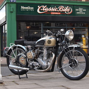 1939 BSA M24 500 Gold Star, Simply Stunning, You Must See.