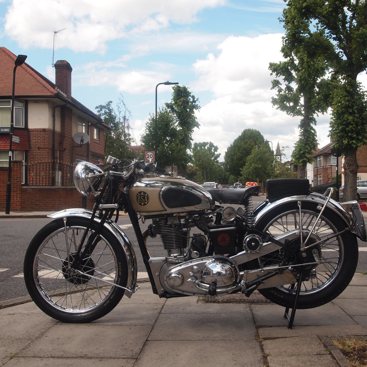 1939 BSA M24 500 Gold Star, Simply Stunning, You Must See. For Sale (picture 6 of 6)