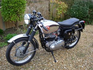 1963 Bsa rocket gold star.